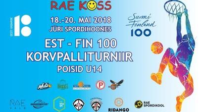 EST-FIN 100 korvpalliturniir